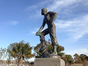 Richard Henry Dana Statue at Dana Point Harbor