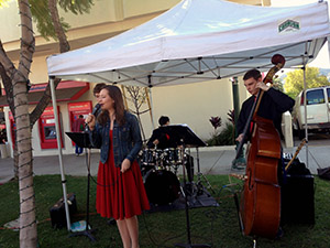 The Untouchables Jazz Band at the Montrose Farmer's Market